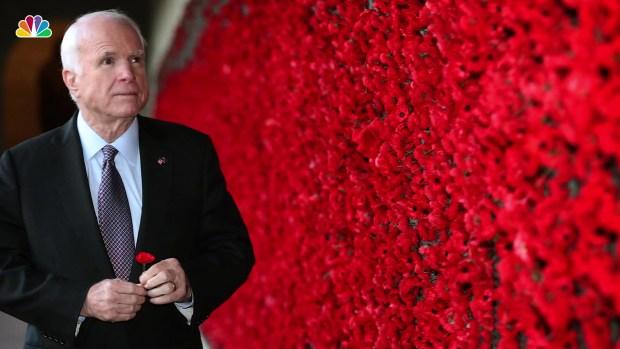 [NATL] John McCain Dies at 81
