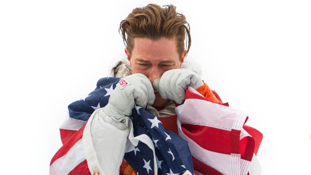 Feb. 14 Olympics Photos: Shaun White Wins 100th Gold for US