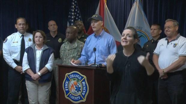 [NATL] Florida's Governor Warns of Devastating Storm Surge
