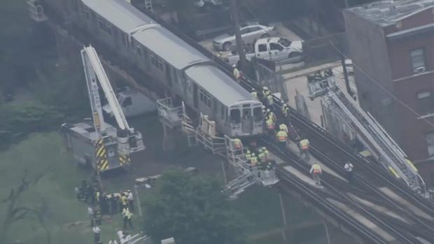 Video From Inside Train Shows Green Line Derailment
