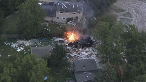 In Photos: Gurnee Home Explosion Litters Block With Debris