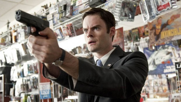 "Bill Hader Working on ""Henchmen,"" and a JFK Impersonator Impersonation"