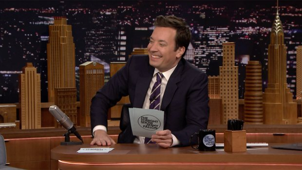 [NATL] 'Tonight': Fallon Reads His Favorite #MyFamilyIsWeird Hashtags
