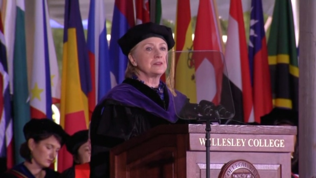 [NATL] Three Moments From Hillary Clinton's Commencement Address