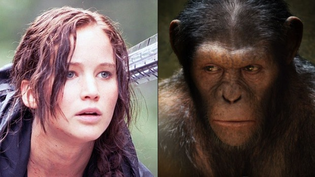 """Hunger Games"" Sequel Already Scheduled, ""Apes"" Sequel Taking Shape"