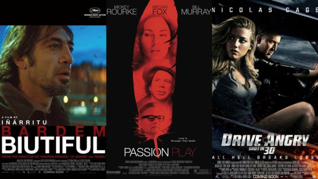 "New on Home Video: ""Biutiful,"" ""Drive Angry"" & ""Passion Play"""