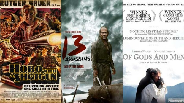 "New on Home Video: ""Hobo With a Shotgun,"" ""13 Assassins"" & ""Of Gods and Men"""