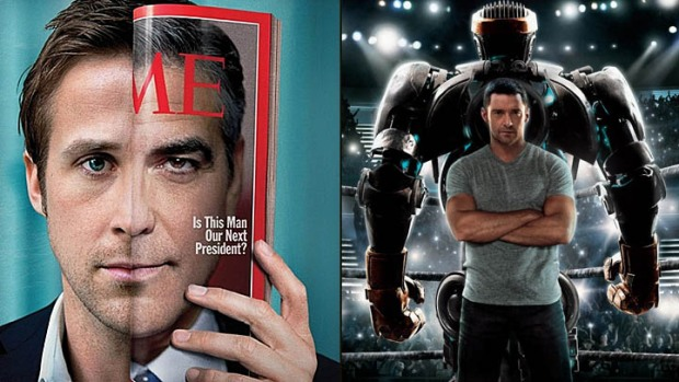 "This Week's New Movies: ""Ides of March"" vs. ""Real Steel""? It's No Contest"