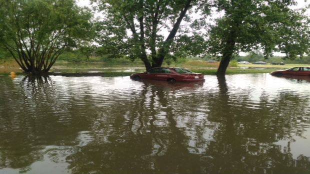 Flash Floods Tear Through Cook County
