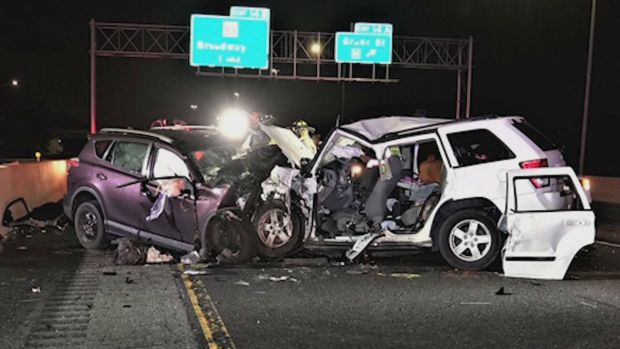 4 Killed, 3 Seriously Injured in Wrong Way Crash on Indiana Toll Road