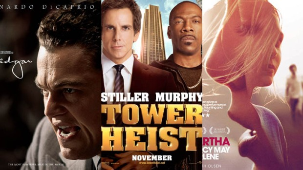 "New on Home Video: ""J. Edgar,"" ""Tower Heist,"" ""Martha Marcy May Marlene"" & More"