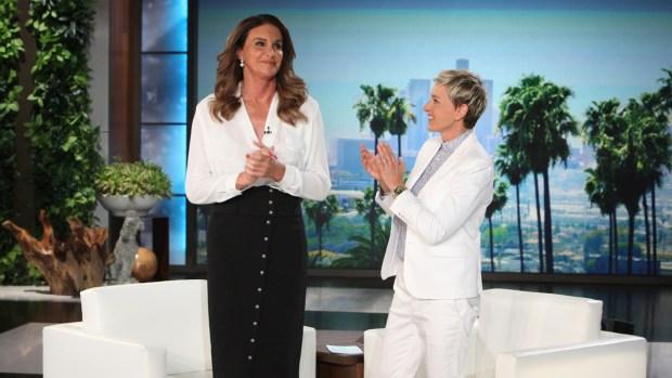 [NATL] 'Ellen': Caitlyn Jenner Talks Same-Sex Marriage