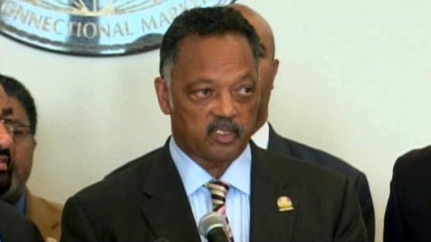 Rev. Jackson Introduces Released Prisoners to Congress