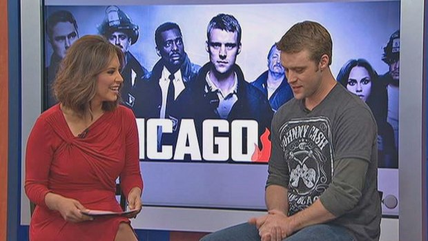"[CHI] ""Chicago Fire"" Actor Explains Firefighter Training"