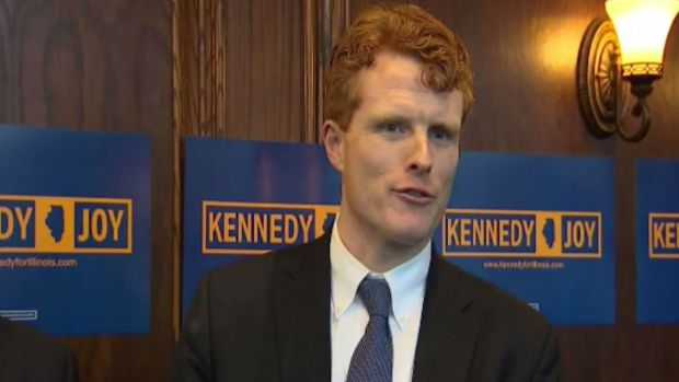 The Race For Governor Continues, Joe Kennedy Arrives in Chicago