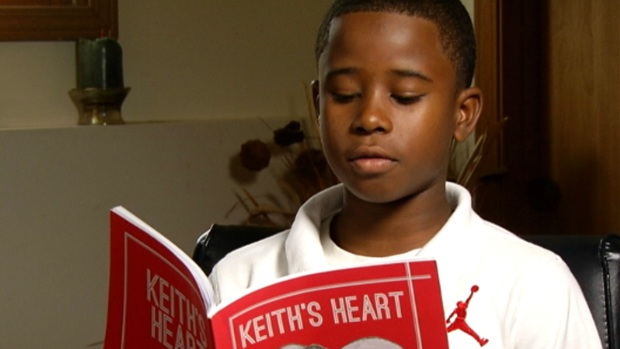 [CHI] Boy Writes Book After Dad Dies of Gun Violence