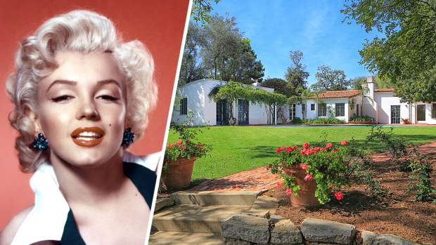 [NATL-LA] Dreamy Home Marilyn Monroe Lived in Is for Sale