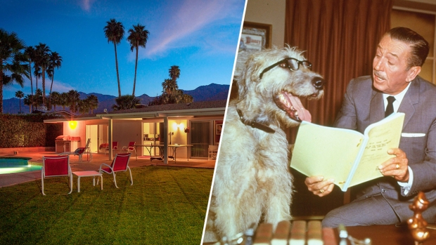 [NATL-LA]Sale Pending for Walt Disney's Technicolor Desert Retreat
