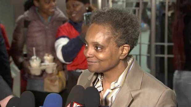 [CHI] Lightfoot Thanks Supporters: 'It's a Fantastic Day to be a Chicagoan'
