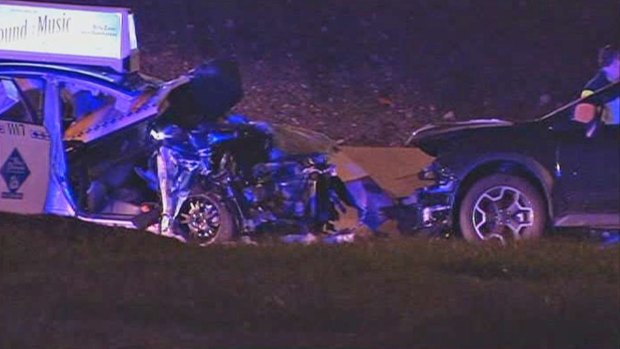 [CHI] Four Injured in Wrong-Way Crash on LSD
