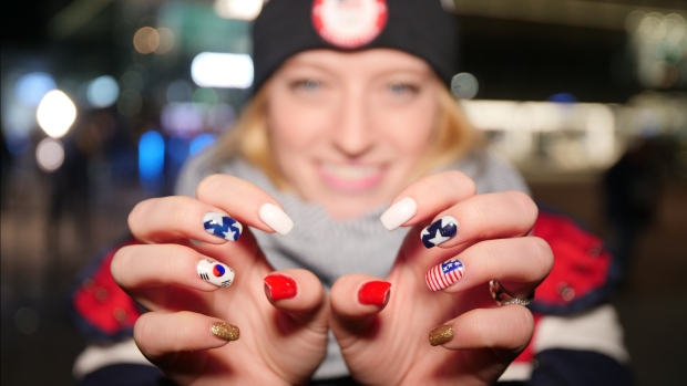 [NATL] Athletes Are Getting Awesome Manicures at the Winter Olympics
