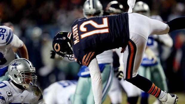 Game Action: Bears Versus Cowboys