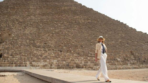 First Lady Melania Trump Takes First Solo International Trip