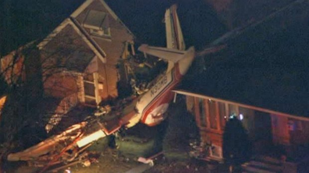 Plane Crashes Into Home Near Midway