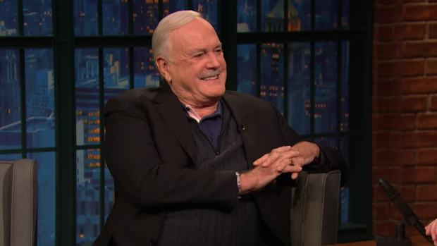 [NATL] 'Late Night': John Cleese Did Not Enjoy Filming Monty Python and the Holy Grail