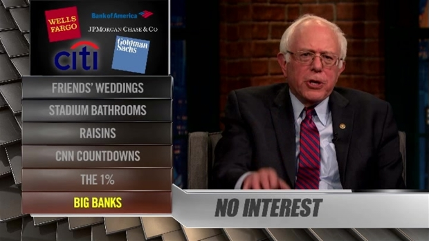 [NATL] 'Late Night': Ya Bernt With Bernie Sanders