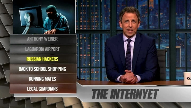[NATL] 'Late Night' Ya Burnt: Anthony Weiner, Russian Hackers