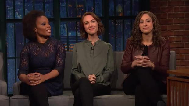 [NATL] 'Late Night' Women Writers Respond to Harvey Weinstein