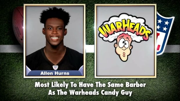 [NATL] 'Tonight Show': NFL Stars Read Their Own Superlatives