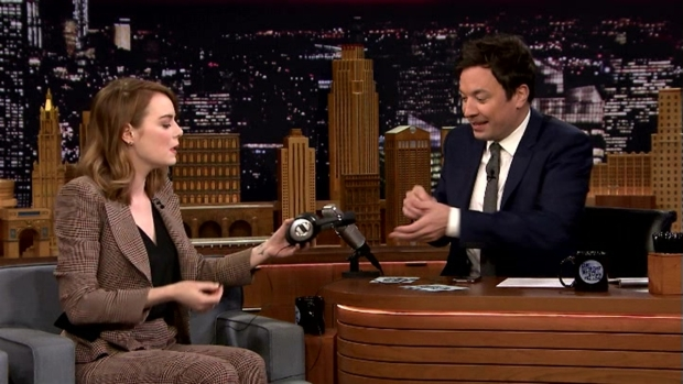 'Tonight Show': Singing Whisper Challenge with Emma Stone