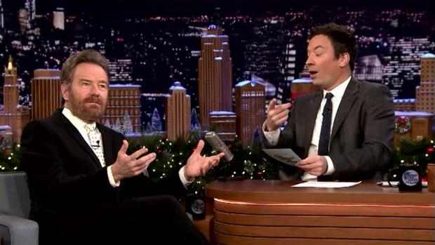 [NATL] 'Tonight Show': Bryan Cranston Plays a Holiday Game
