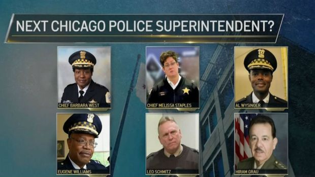 Search Underway For Chicago's New Possible 'Top Cop'