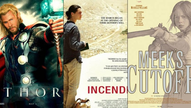 "New on Home Video: ""Thor,"" ""Incendies,"" ""Meek's Cutoff"" and More"