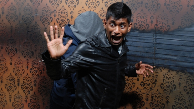 [NATL] Spooky, Scary, Funny: Haunted House Reactions