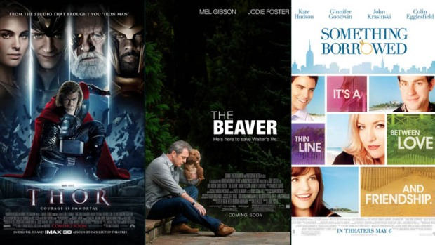 "This Week's New Movies: ""Thor"" vs. ""The Beaver"""
