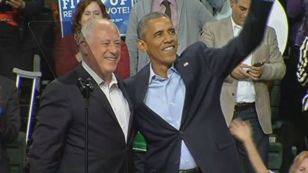 Obama Urges Quinn Supporters to Vote Early