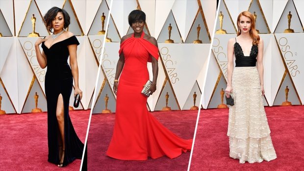 Best Looks From the 2017 Oscars Red Carpet