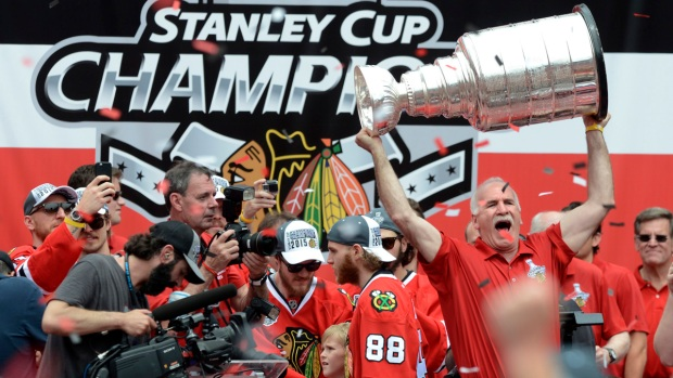[NATL] Photos: Chicago Celebrates Blackhawks' Stanley Cup Win