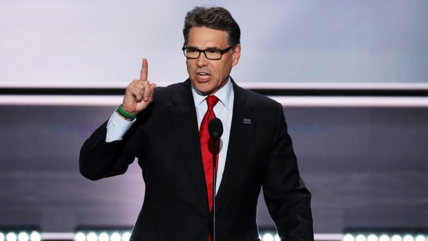 [NATL] Perry, Who Once Forgot Energy Dept, May Lead It