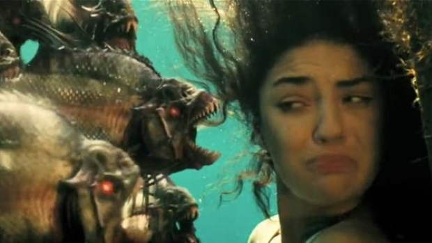 "[NATL] Yet Another ""Piranha 3D"" Trailer, Now With Extra Flesh-Eating Fish"
