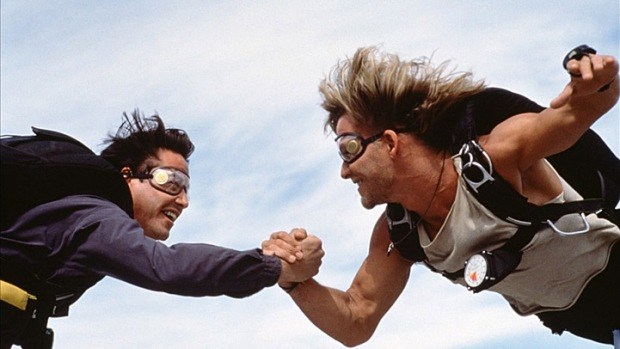 "Not Sure You Can Make ""Point Break"" Even Better, But They're Gonna Try"