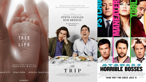 "New on Home Video: ""Tree of Life"", ""The Trip"", ""Horrible Bosses"" & More"