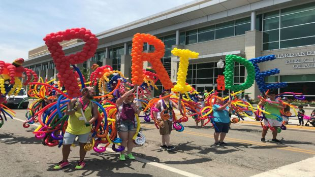A Look at Aurora's First-Ever Pride Parade