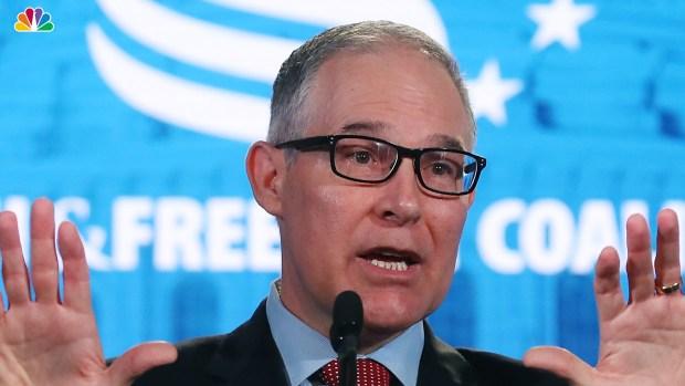 [NATL] Scott Pruitt Leaves EPA Administrator Post