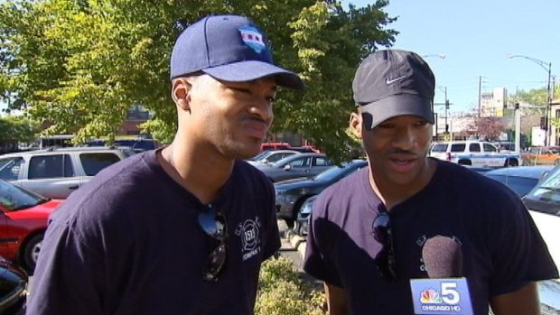 [CHI] Twins Describe Dousing Fire On Pilot Following Crash