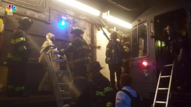FDNY Rescues Children, Families From Pitch-Black Subway